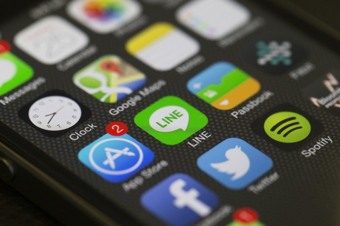 social media - phone